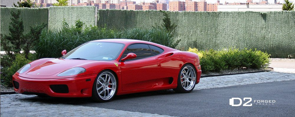 Carbone Auto Group >> D2FORGED Wheels Reboots A Red Ferrari 360