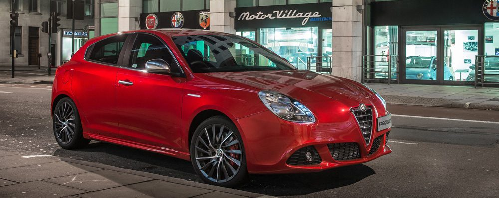 Limited Edition Alfa Giulietta Makes Fast Entrance At London Dealership