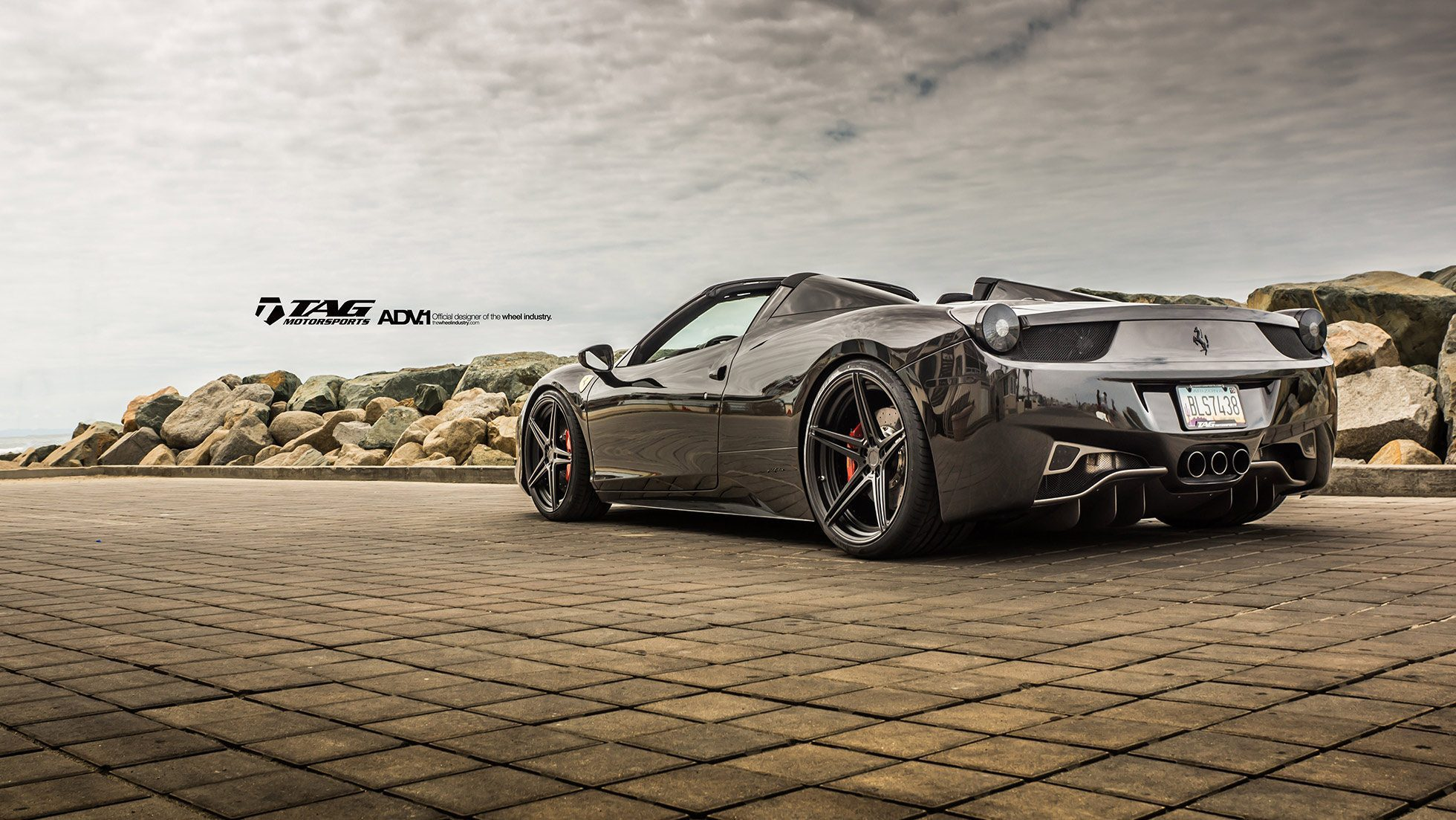 Ferrari 458 Italia Spider On Adv 1 Wheels By Tag Motorsports