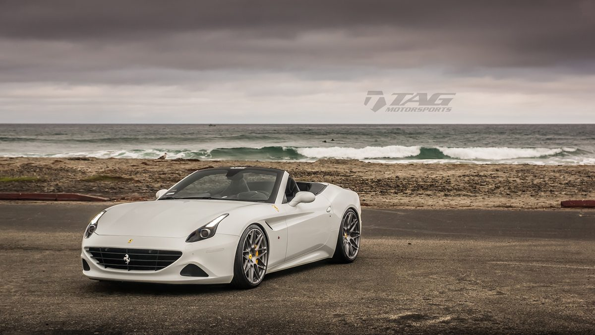 Ferrari california t with hre wheels by tag motorsports