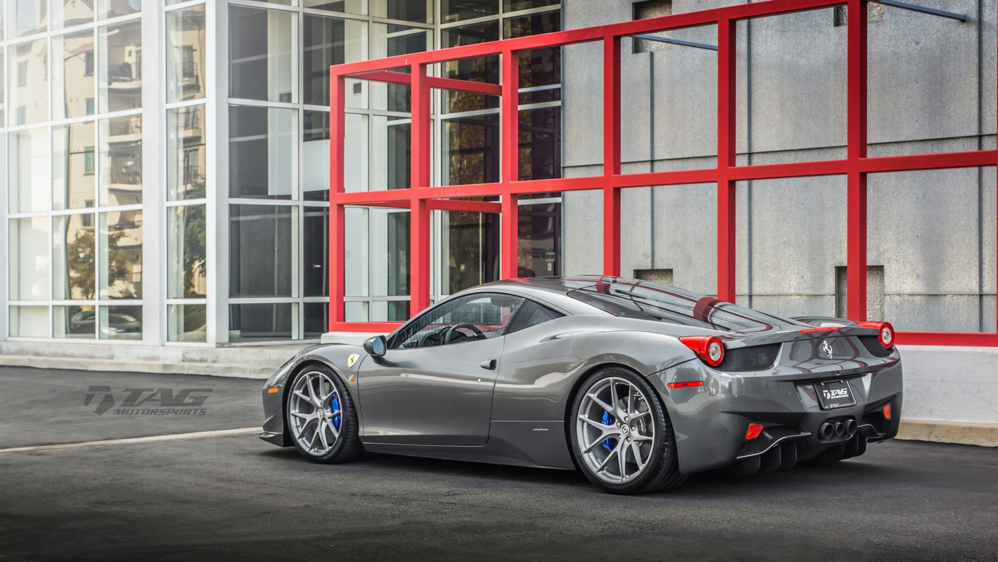 Ferrari 458 With HRE P101 Wheels By TAG Motorsports -